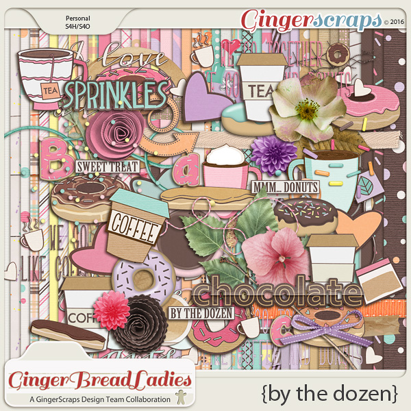 GingerBread Ladies Collab: By The Dozen