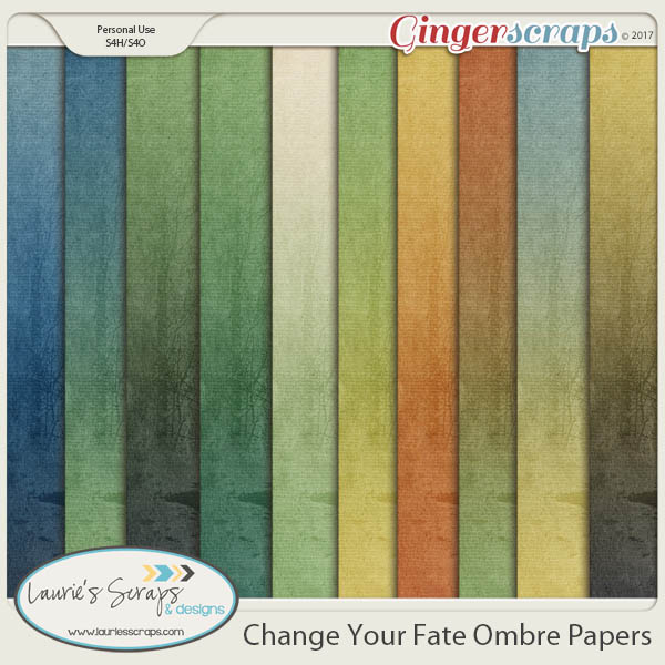 Change Your Fate Ombre Papers