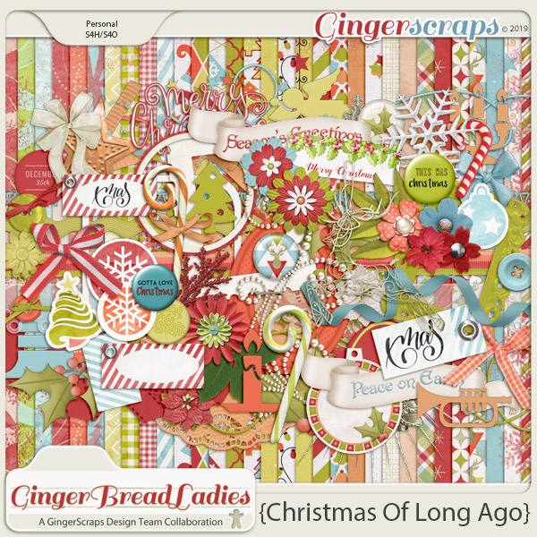 GingerBread Ladies Collab: Christmas Of Long Ago