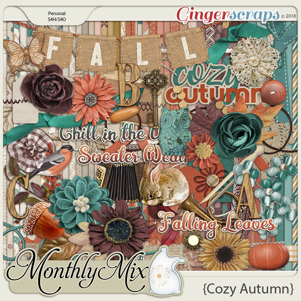 GingerBread Ladies Monthly Mix: Cozy Autumn