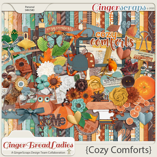 GingerBread Ladies Monthly Mix: Cozy Comforts