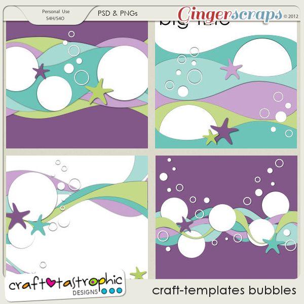 Craft-Templates Bubbles