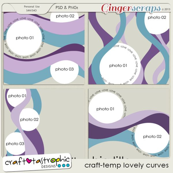 Craft-Templates Lovely Curves