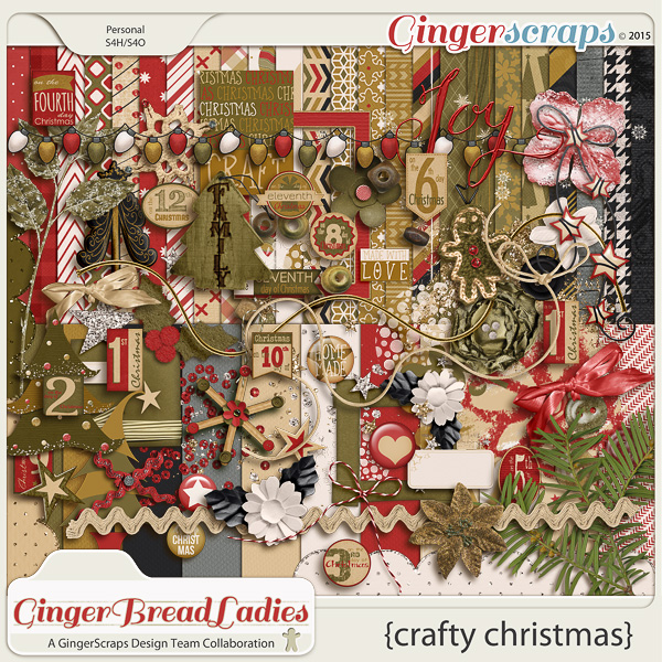 GingerBread Ladies Collab: Crafty Christmas