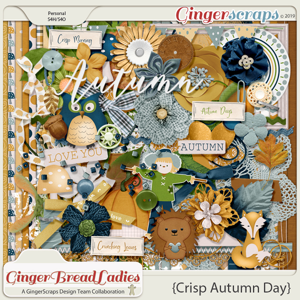 GingerBread Ladies Collab: Crisp Autumn Day