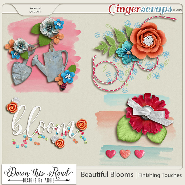 Beautiful Blooms | Finishing Touches