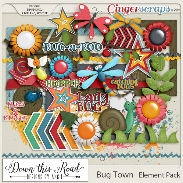 Bug Town | Element Pack