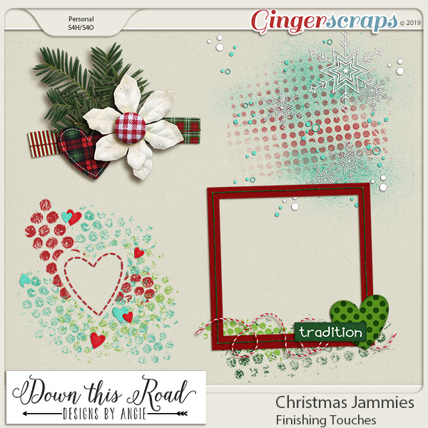 Christmas Jammies | Finishing Touches