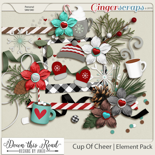 Cup Of Cheer   Element Pack