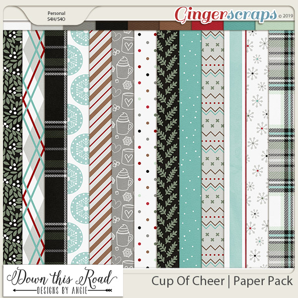 Cup Of Cheer   Paper Pack
