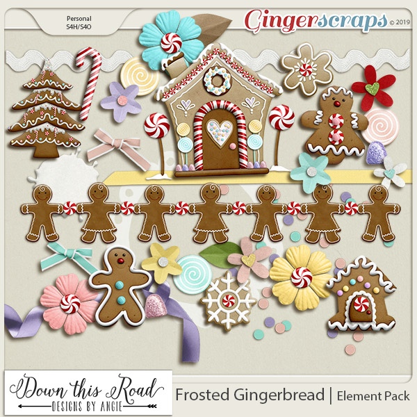 Frosted Gingerbread | Element Pack