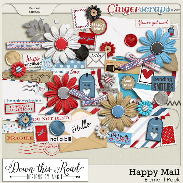 Happy Mail Element Pack