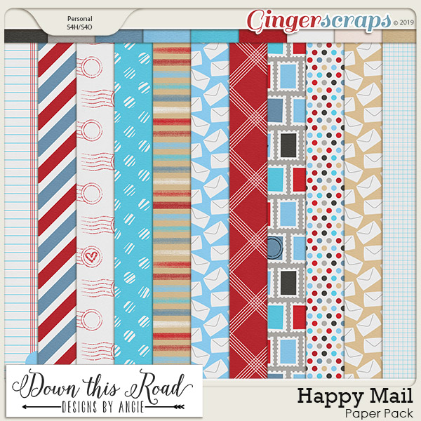 Happy Mail Paper Pack
