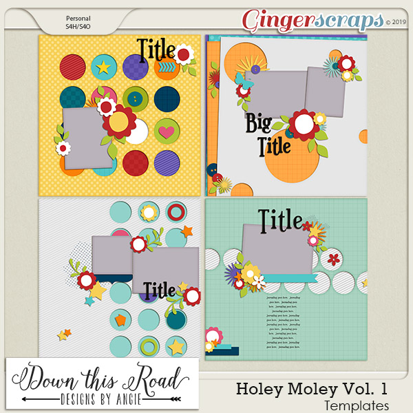 Holey Moley | Templates Vol 1