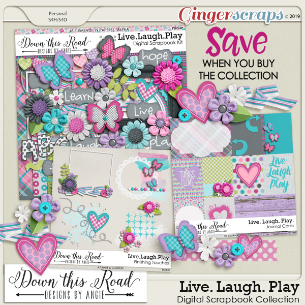 Live. Laugh. Play Collection