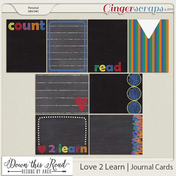 Love 2 Learn | Journal Cards