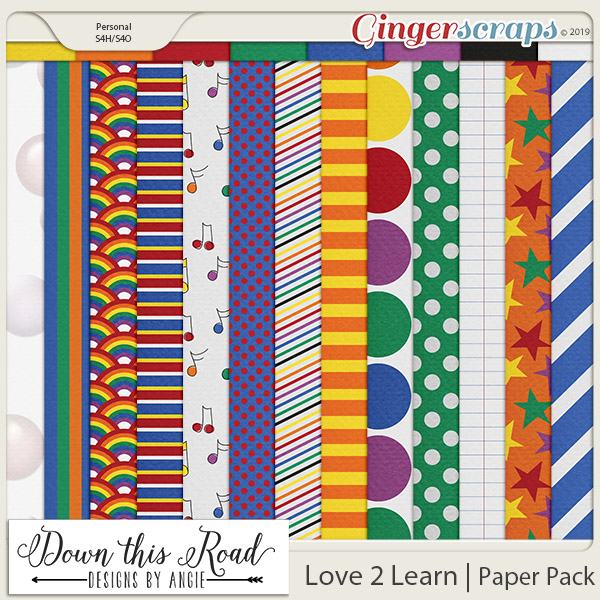Love 2 Learn | Paper Pack