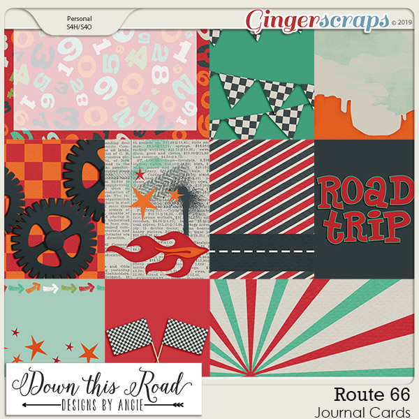 Route 66 | Journal Cards
