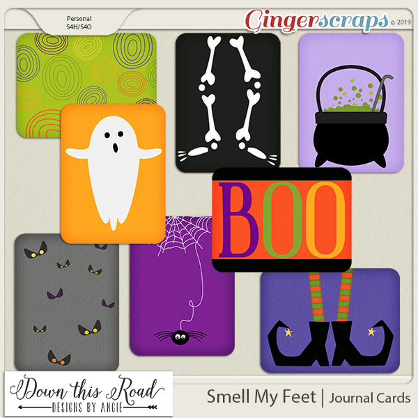 Smell My Feet | Journal Cards