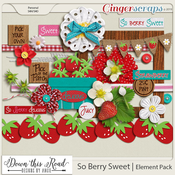 So Berry Sweet   Element Pack