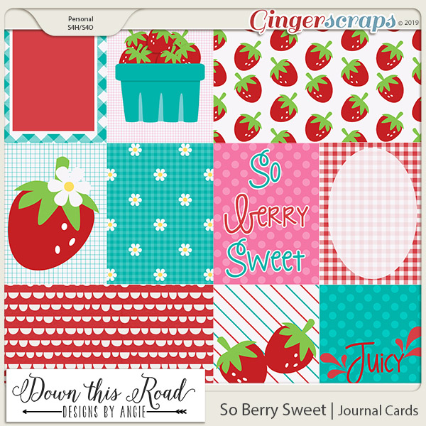 So Berry Sweet | Journal Cards