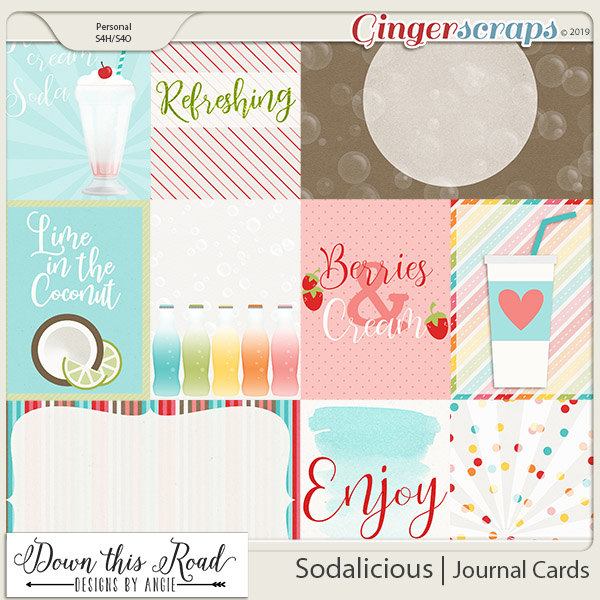 Sodalicious | Journal Cards