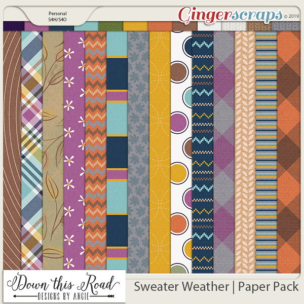 Sweater Weather | Paper Pack