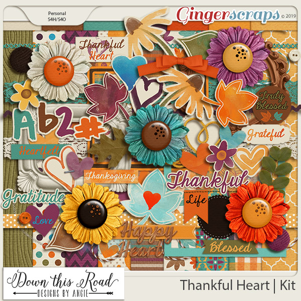 Thankful Heart | Kit