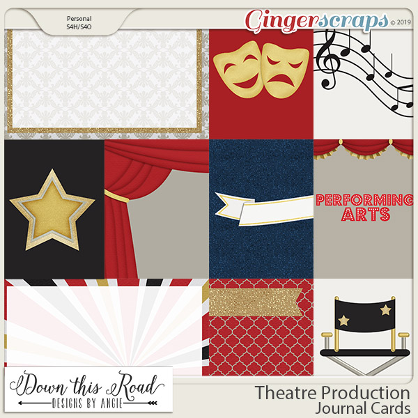Theatre Production | Journal Cards