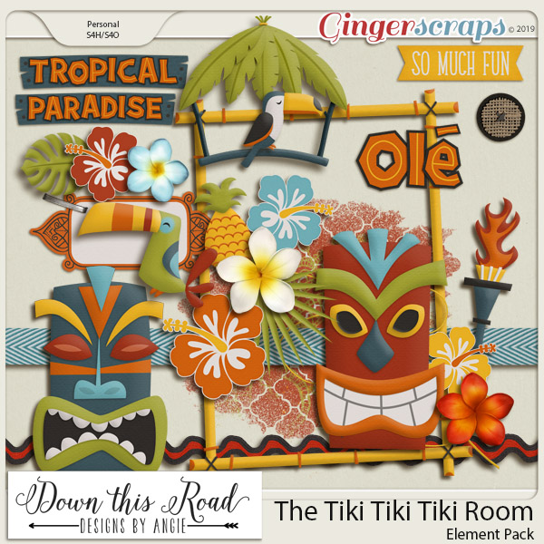 The Tiki Tiki Tiki Room Element Pack