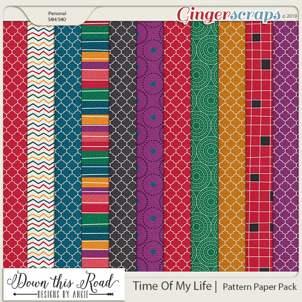 Time Of My Life | Pattern Paper Pack