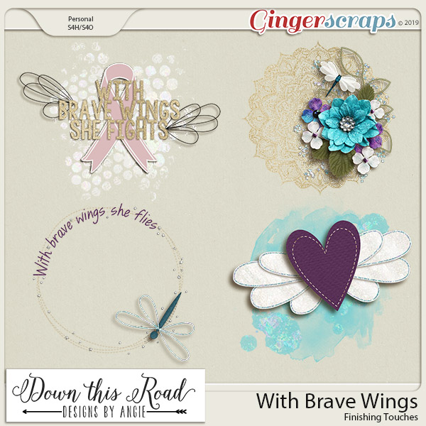 With Brave Wings Finishing Touches