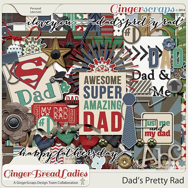 GingerBread Ladies Collab: Dad's Pretty Rad