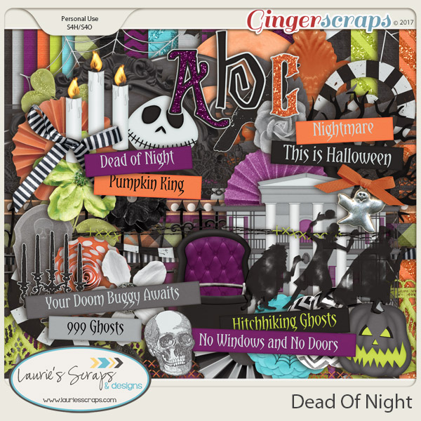 Dead Of Night Page Kit