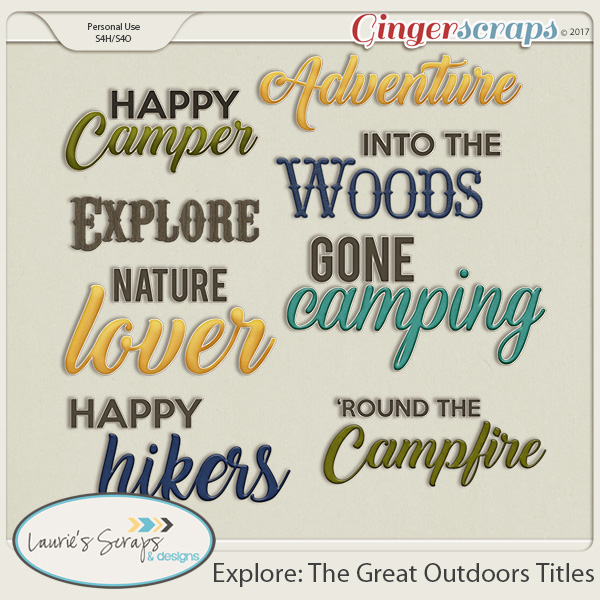 Explore: The Great Outdoors Titles