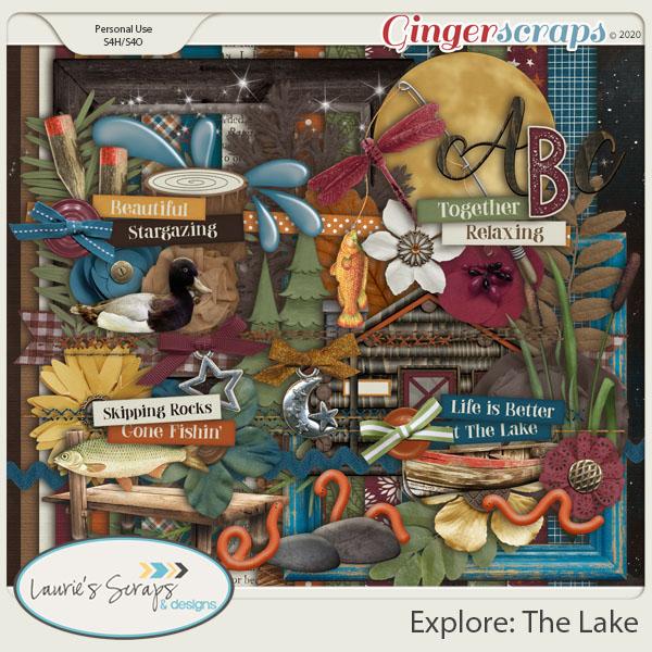 Explore: The Lake Page Kit