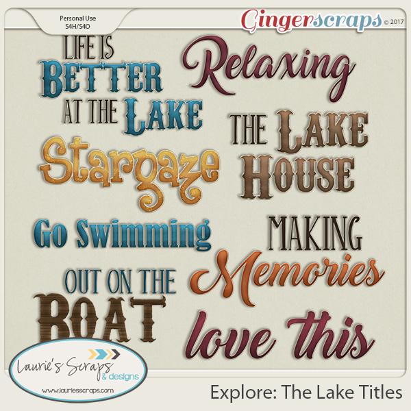 Explore: The Lake Titles
