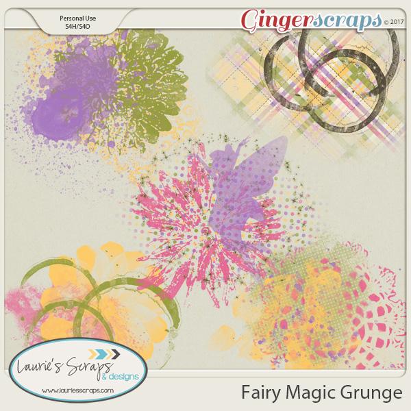 Fairy Magic Grunge