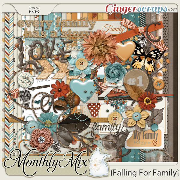 GingerBread Ladies Monthly Mix: Falling For Family