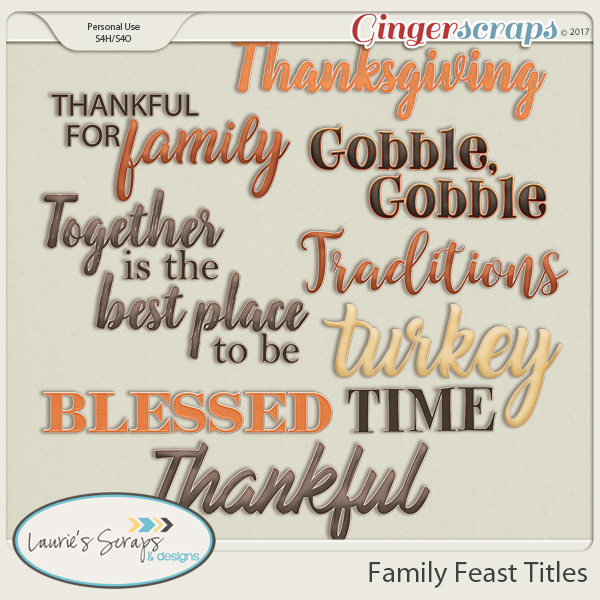 Family Feast Titles