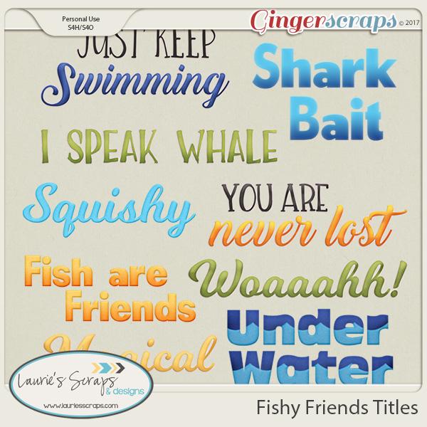 Fishy Friends Titles