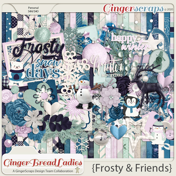 GingerBread Ladies Collab: Frosty & Friends