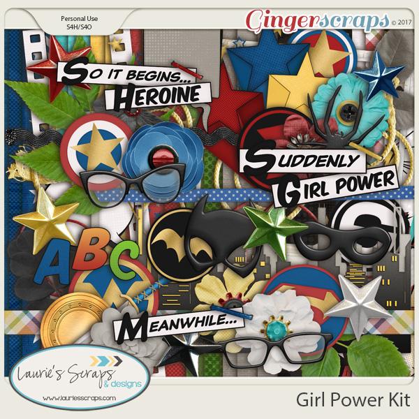 Girl Power Page Kit