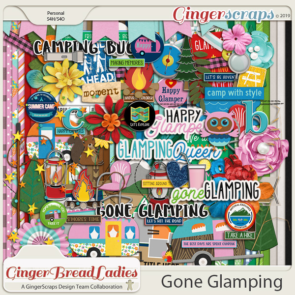 GingerBread Ladies Collab: Gone Glamping