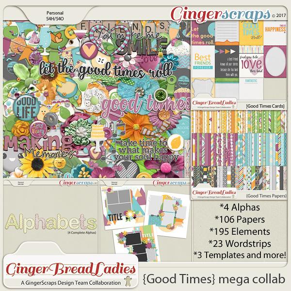 GingerBread Ladies MEGA Collab: Good Times