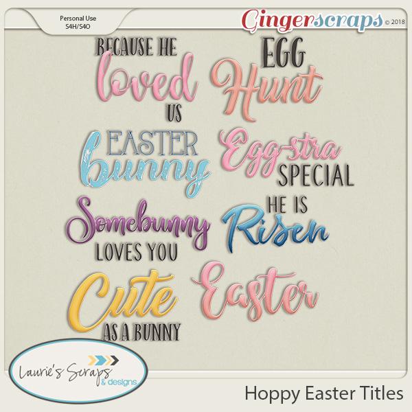 Hoppy Easter Titles