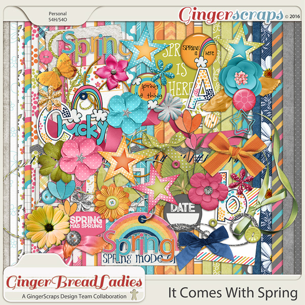 GingerBread Ladies Collab: It Comes With Spring