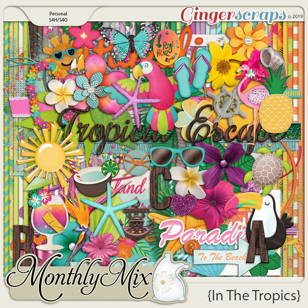 GingerBread Ladies Monthly Mix: In The Tropics
