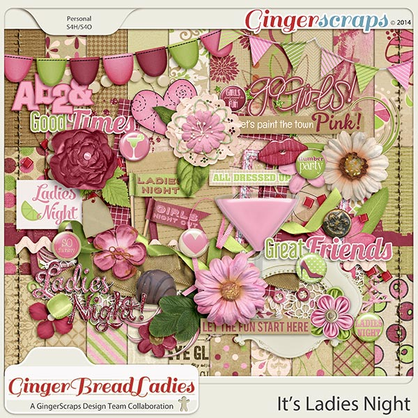 GingerBread Ladies MEGA Collab: It's Ladies Night