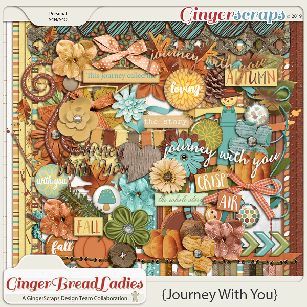 GingerBread Ladies Collab: Journey With You
